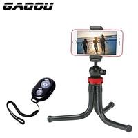 online GAQOU Mini Tripod Flexible Octopus Mobile Phone Tripod Bracket with Remote Control Monopod Se