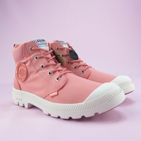 【iSport】Palladium PAMPA LITE + CUFF WP 高統靴 防潑水 76259683 女款 粉