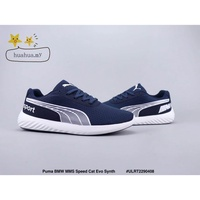 PUMA_BMW_MMS_Speed_Cat_Evo_Synth_Mesh_running_shoes_Navy_blue