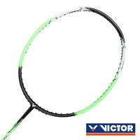 VICTOR 突擊球拍-4U-羽毛球拍 羽球拍 空拍 勝利 螢光綠黑白@TK-330R-4U@