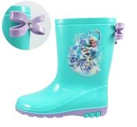 【兒童雨鞋】【台灣製造】【冰雪奇緣公主時尚雨鞋】FOKL84805