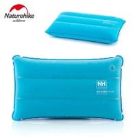Naturehike Ultralight Foldable Travel Camping Pillow Flocking+PVC Air Mattress Inflatable Mattress To Sleep Pillow Outdoor Mat - intl