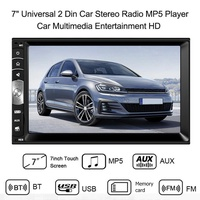 7.0 Inch Touch 2DIN Car Stereo MP5 Player Bluetooth RDS AM FM Radio USB Ciflying