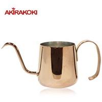 《AKIRAKOKI》玫瑰金不鏽鋼細口手沖壺 230ml