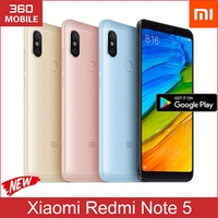 Xiaomi Redmi Note 5 Global Rom AI Dual Camera 18:9 Full Screen 32GB 64GB (Export set)