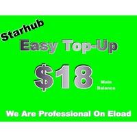 Starhub $18 prepaid top up