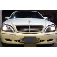 全新 賓士 Benz w220 大燈 實車安裝 讚 請先付訂金