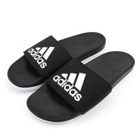 ADIDAS ADILETTE CLOUDFOAM PLUS LOGO 男女拖鞋 CG3427-黑