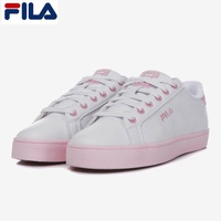 FILA New Court Deluxe White/Pink Shoes FS1SIA1070X