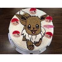 伊布 神奇寶貝 寶可夢 客製化蛋糕 生日蛋糕 節慶蛋糕