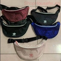 Adidas Casual Chest Bag Sling Bag Unisex 3D Issey Miyake Sport Waist Bag
