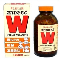 若元錠 胃腸藥 Strong Wakamoto 1000 Tablets / Japanese Gastrointestinal Supplement★Direct from Japan★