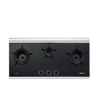 RINNAI RB-3CG 3-INNER BURNER BUILT-IN HOB