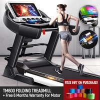 LATEST 2019 MODEL! Pepu Foldable Treadmill For TM600 K5 Motorized Treadmill Singapore