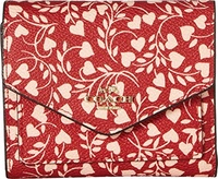 COACH Womens Small Wallet in Love Leaf