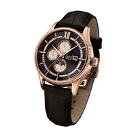 ARBUTUS AUTOMATIC AR907RBB STAINLESS STEEL ROSE GOLD MENS WATCH