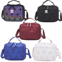 Adidas 3D diamond casual shoulder bag red
