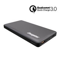 Energizer UE10015CQ 10000mAh Quick Charge Portable Power Bank (Grey)