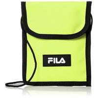 FILA 日本限定 FM2149 STRAP POUCH 手機包 / 側背包 (螢光黃) 化學原宿