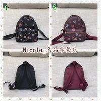 Nicole代購 COACH 22234 新款女生真皮迷你雙肩背包 迷你書包後背包 附購物憑證