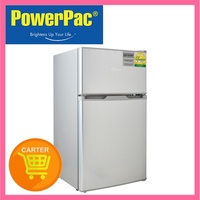 PowerPac 85L 2 Door Mini Bar Fridge with Freezer (PPF85)