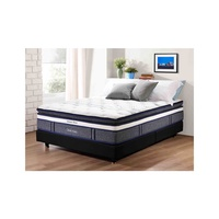 Backpedic ULTIMATE DELUXE Queen Size Latex Pocketed Spring Mattress (also available in King, Super Single and Single size)