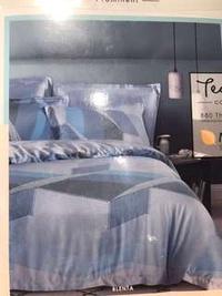 Akemi NEW Queen Size Bedsheet + quilt cover