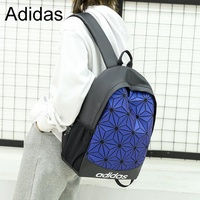 Adidas 3D Diamond Backpack Student Backpack Travel Bag