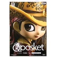 🔥【新品優質】🔥【漢晨】眼鏡廠 QPOSKET 日本歌手 HIDE 松本秀人 豹紋帽 現貨