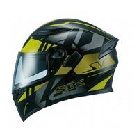 SBK SV / TRAVEL 黑黃 彩繪 /可樂帽/ 全罩式安全帽 /雙D扣環/內制鏡片【歐樂免運】