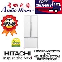 HITACHI R-WB550P2MS GPW 445L FRENCH BOTTOM FREEZER FRIDGE *** 1 YEAR HITACHI WARRANTY *** FREE DELIV