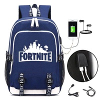 Fortnite Game Fortnite Battle Royale Notebook Backpack Shoulder travel School Bag School