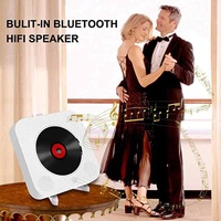 yiuu CD Player/Bluetooth Speaker/Full Band FM Radio/U-Disk Player/Home Boomb 5 IN 1 CD Player with Remote Control - intl