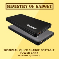 Energizer UE10015CQ 10000mAh Quick Charge Portable Power Bank