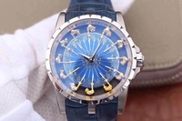 Roger Dubuis Watch Series (Excalibur) Round Table 12 Knight A250 Men's Watch
