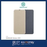 NILLKIN 星韵皮套/SAMSUNG Galaxy A50/手機殼/側掀皮套/散熱設計/書本皮套/保護皮套【馬尼】