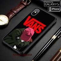 新款Vans Yeezy標誌適用於iPhone 6 6S 7 8 Plus X Xs Max Xr手機殼
