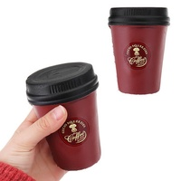 Cute Coffee Cup Squishy 11CM Slow Rising Jumbo Toy Home Decoration Gift