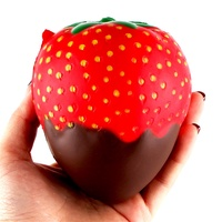 11.5cm Strawberry Scented Squishy Slow Rising Squeeze Toys Jumbo Collection Anti-stress Funny Toy Gift Toys for Children 2018