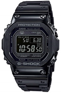 ▶$1 Shop Coupon◀  CASIO G-Shock GMW-B5000GD-1JF G-Shock Connected Radio Solar Black Watch (Japan Dom