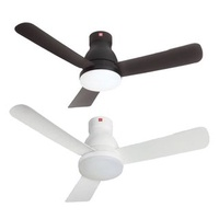 "KDK 48"" U48FP DC CEILING FAN WITH LIGHT & REMOTE"