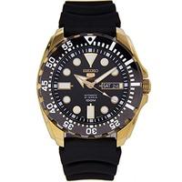 (Seiko) Seiko Men s 5 Automatic SRP608K Black Rubber Automatic Watch