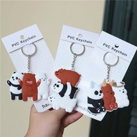 We Bare Bears Keychain Pendant