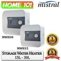 Mistral Storage Water Heater 15L - 30L