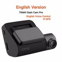 ready stock XIAOMI 70mai Dash Cam Pro GPS 1944P HD Car DVR Dash Camera English
