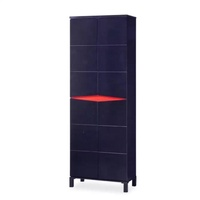 [A-STAR] NODI SHOE CABINET RED/BLACK (Tall)