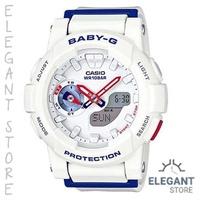 Casio Baby-G BGA-185TR-7A Marine Tricolor Women's Watch / BGA-185TR-7ADR