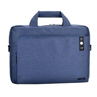 "Agva 13""  LTB307 Heritage Briefcase (Blue)"