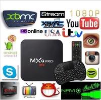 [Free Keyboard + Mouse]U.S STOCK  New MXQ Pro 4K Kodi TV Box Streaming Media Player DLNA Miracas