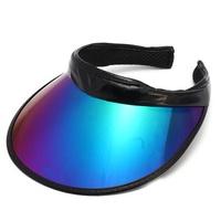 Outdoor Camping Hat Summer UV Plastic Visor Sun Hat Clear Tennis Beach Hat Protection Snapback Cap